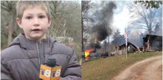 Hrabri dječak (7) uletio u vatru kako bi spasio sestru iz požara