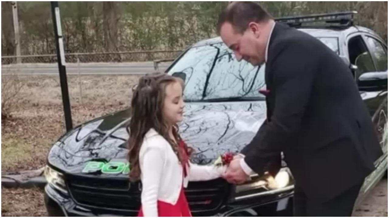 Djevojčica je izgubila oca s kojim je trebala na ples