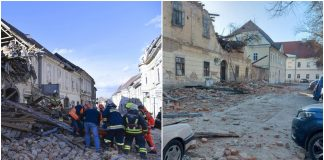 Molitva za unesrećene u potresu