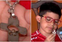 Križ spasio dječaka od metka