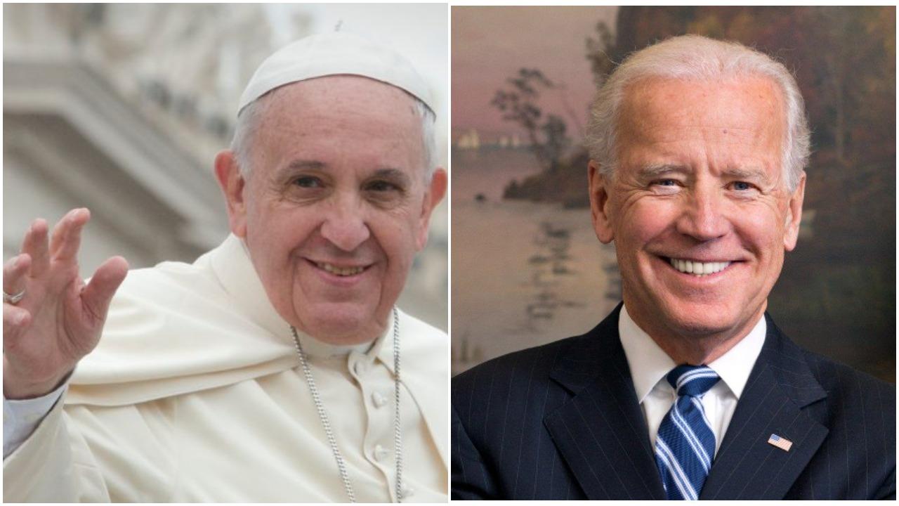 Papa oduševljen Bidenom