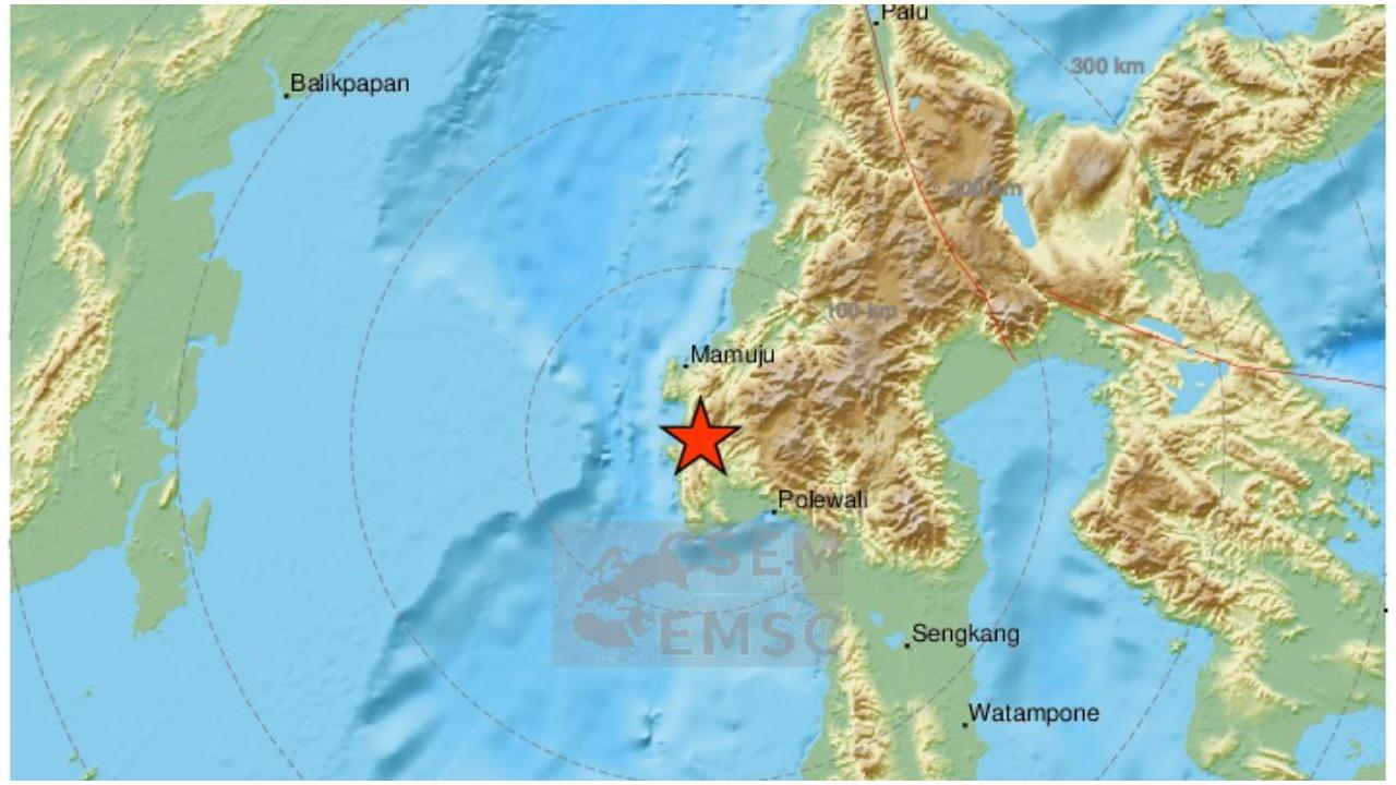 Razoran potres u Indoneziji