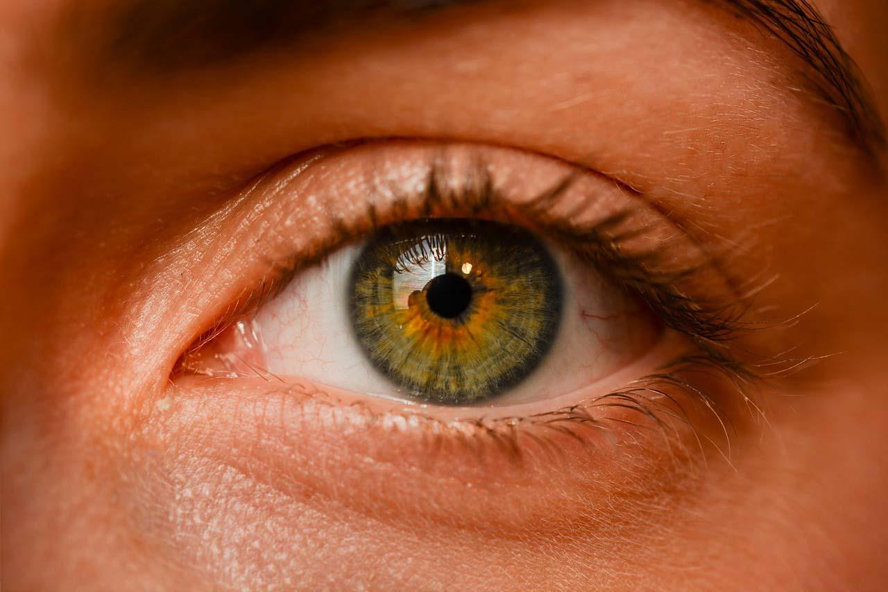 Suhe oči