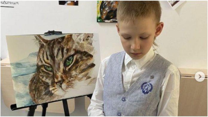Ovaj mali umjetnik ima samo 9 godina, a njegova dobrota nema granica