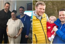 Sestra rodila dijete svom gay bratu i njegovom partneru