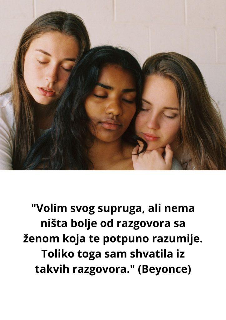 Žensko prijateljstvo - citati