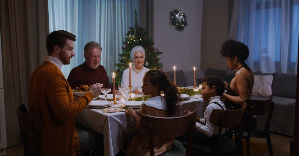 Molitva za obiteljsku večeru