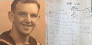 Vojnik poslao razglednicu prije 77 godina