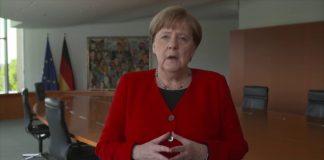 Angela Merkel tihi Uskrs
