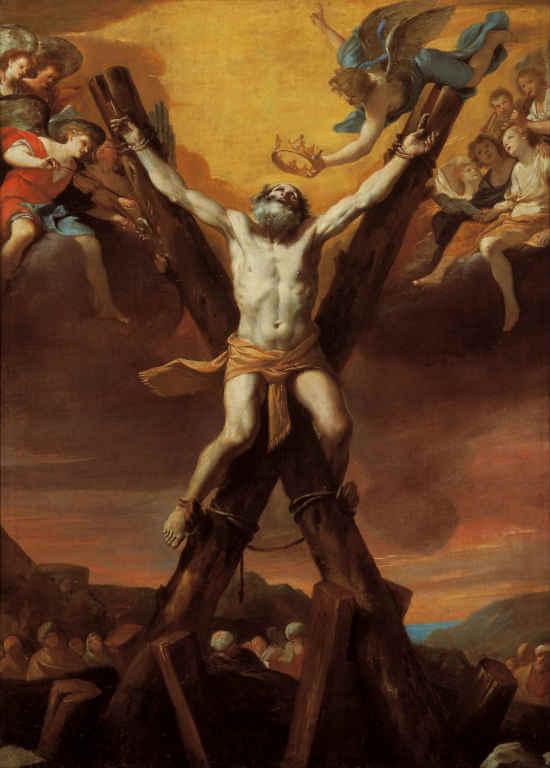 Apostol Andrija - mučenička smrt