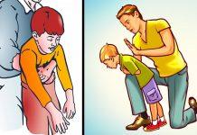 Gušenje kod djeteta pomoć