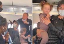 Ispraznili avion djevojčica bez maske