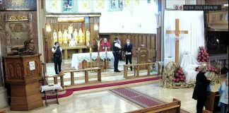 London policija prekinula bogoslužje