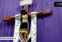 Vjernici ostali u čudu kad su vidjeli figuru Krista ''kako miče glavom''