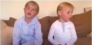 Dječaci snimali poruku baku djeda