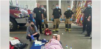 Beba došla na svijet uz pomoć vatrogasaca