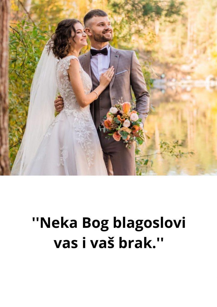 Stihovi za vjenčanje mladencima