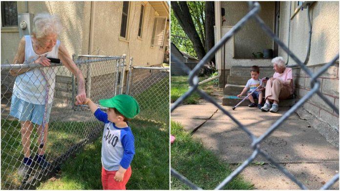 Iako ih dijeli 97 godina razlike, ovi susjedi su postali pravi prijatelji