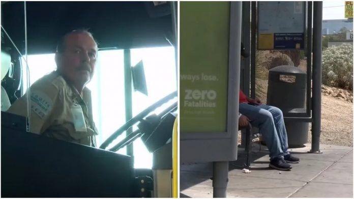 Vozač autobusa starac