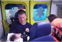 Riječki vatrogasac nakon sudara držao bebu u naručju na putu do bolnice