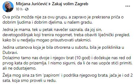 Priča Zakaj volim Zagreb
