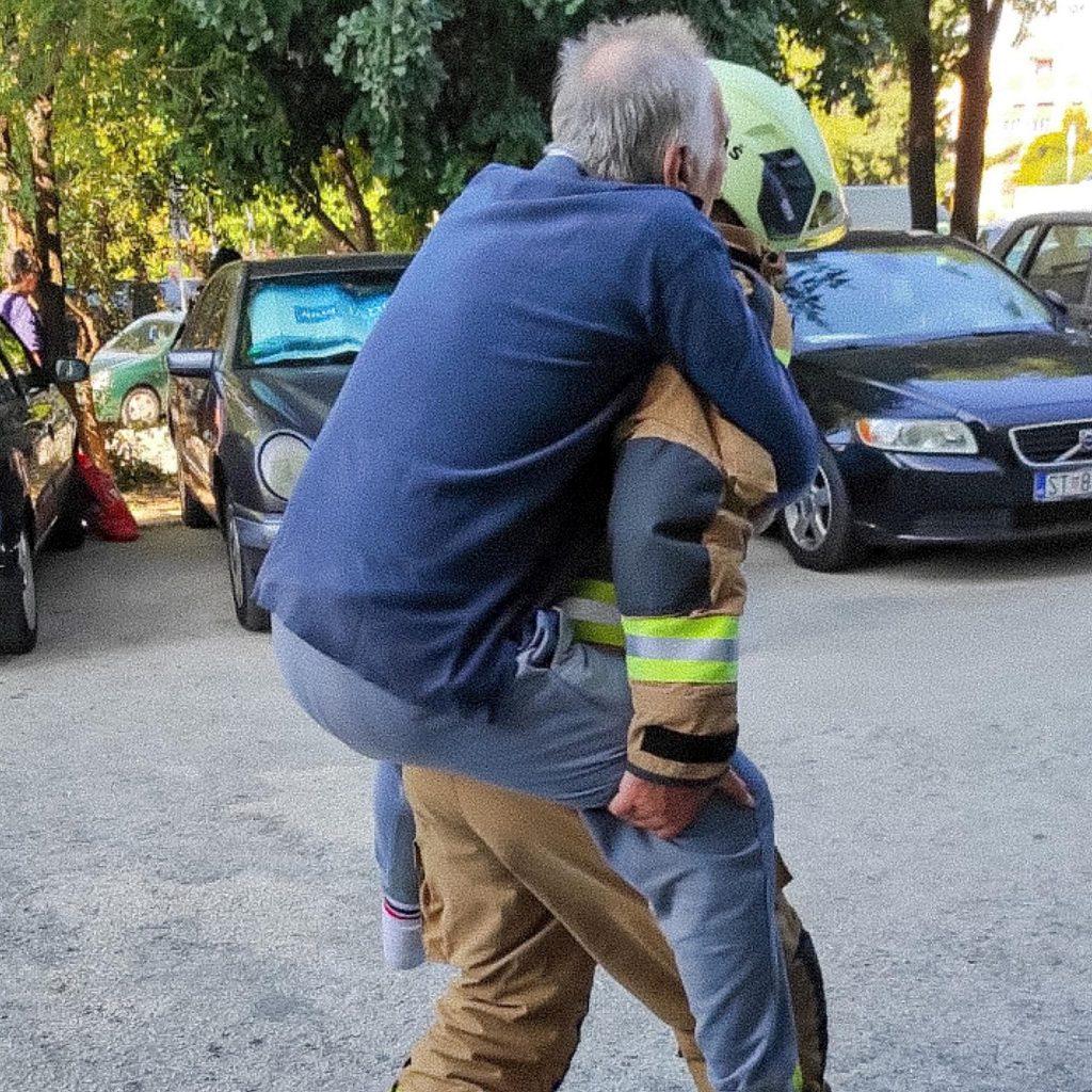 Splitski vatrogasac iznio čovjeka