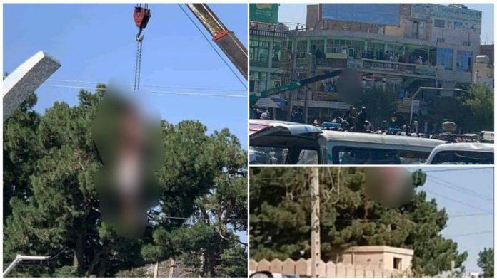 Talibani objesili tijela četvorice muškaraca