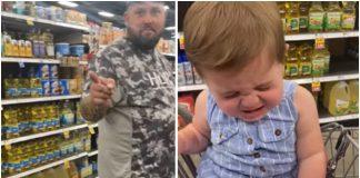 Tata rekao ne bebina reakcija