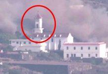 Strašne snimke: Lava uništava crkvu na Kanarskim otocima