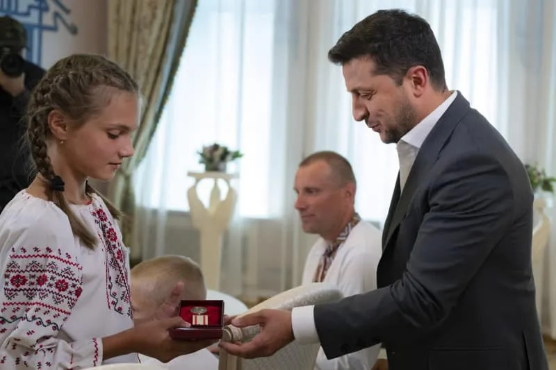 Nagrada predsjednika Ukrajine i posebna medalja