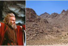 Na ovom mjestu je Mojsiju Bog dao Deset zapovijedi