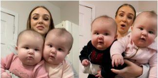 Video majke s blizankama