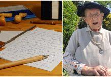 Pismo bake Nancy potaknut će vas da se nikad ne predate
